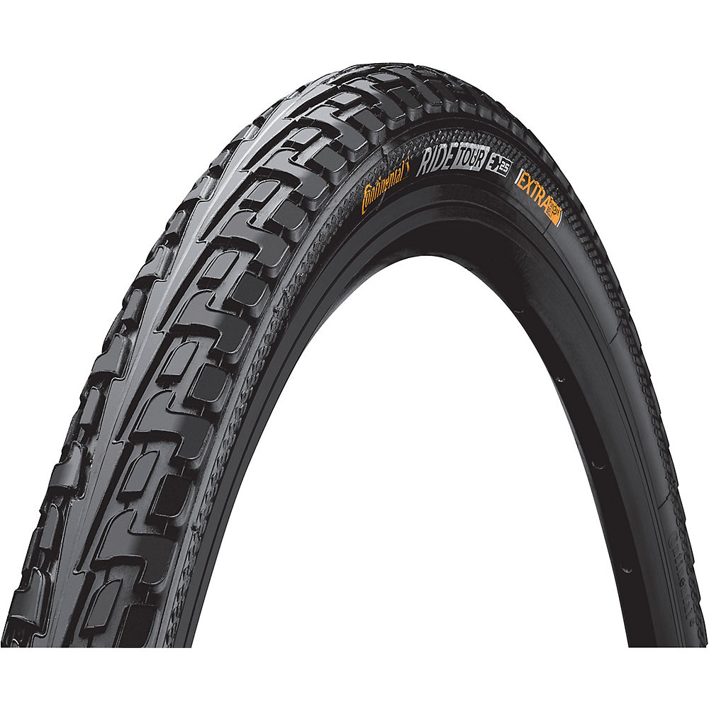 Continental Tour Ride Road Bike Tyre - Black - Wire Bead, Black