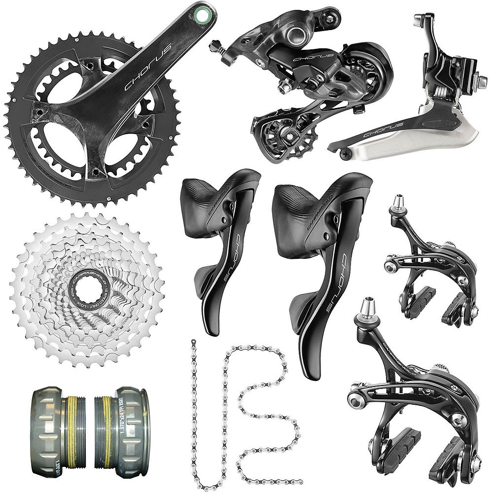 Campagnolo Chorus 12 Speed Road Groupset 2020 - Carbono - 50.34, Carbono