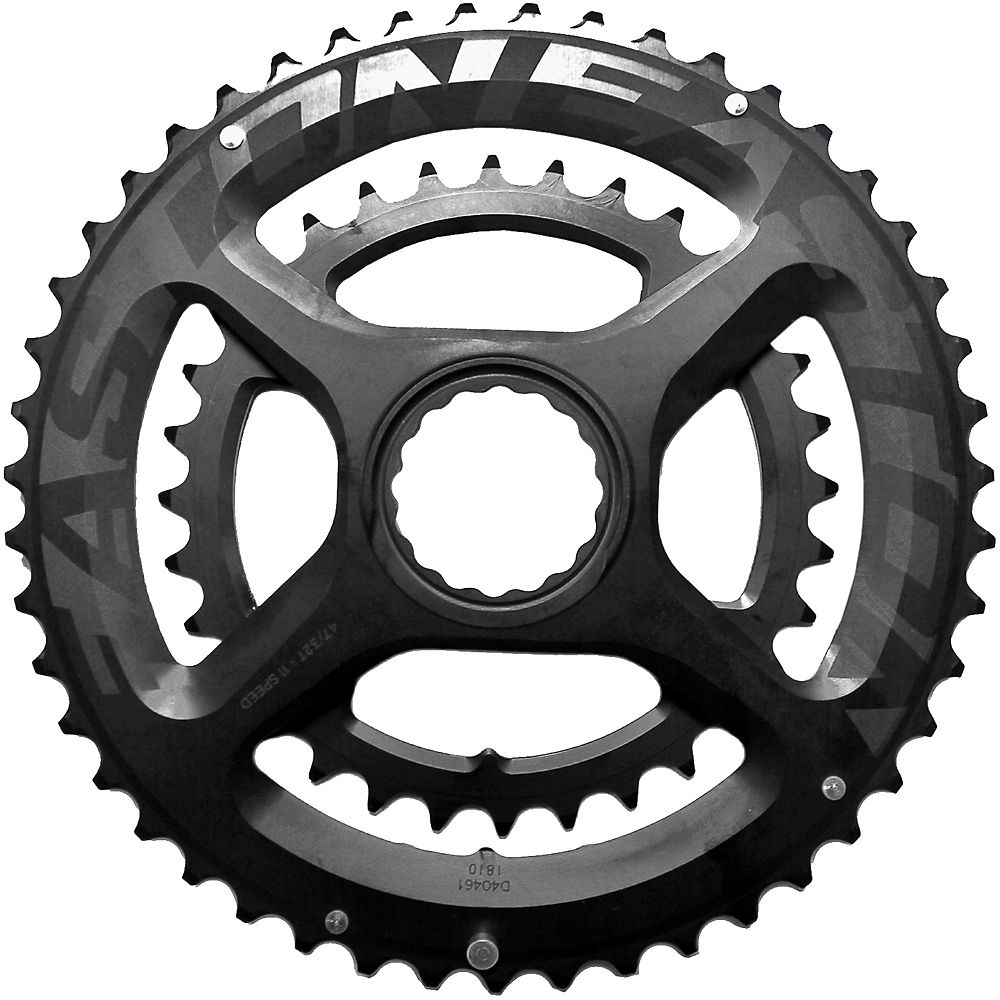 Easton EA90 Chainring - Negro - 46.36t, Negro