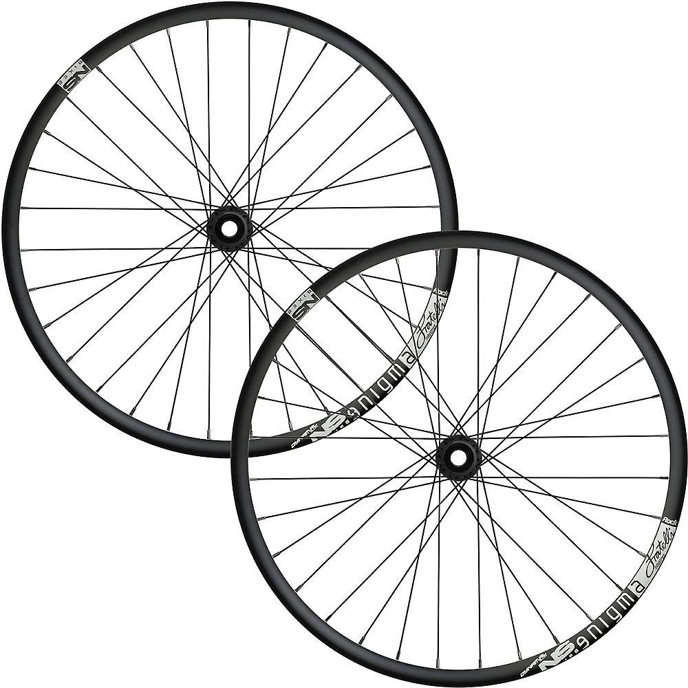 NS Bikes Enigma Rock MTB Wheelset 2018 - Black - 20mm/157x12mm, Black