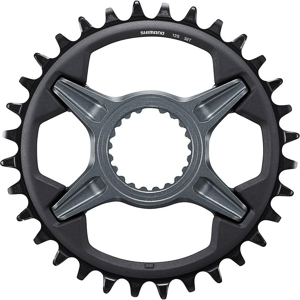 Shimano SLX M7100 12 Speed Chainrings - Black - Direct Mount, Black