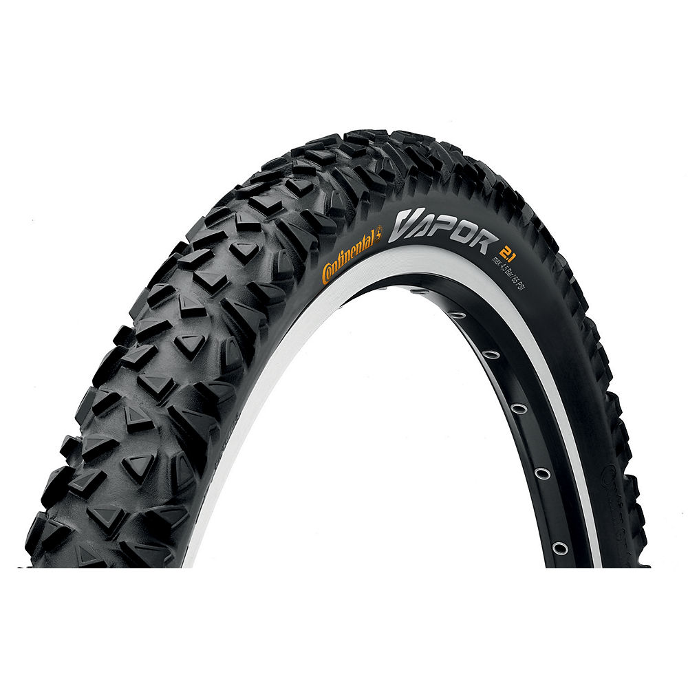Continental Vapor MTB Tyre - Black - Wire Bead, Black