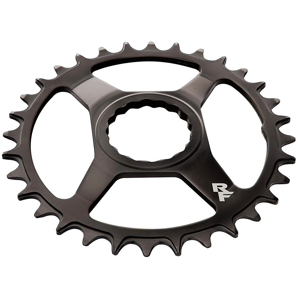 Race Face Direct Mount Narrow-wide Chainring - Black Steel - 30t  Black Steel