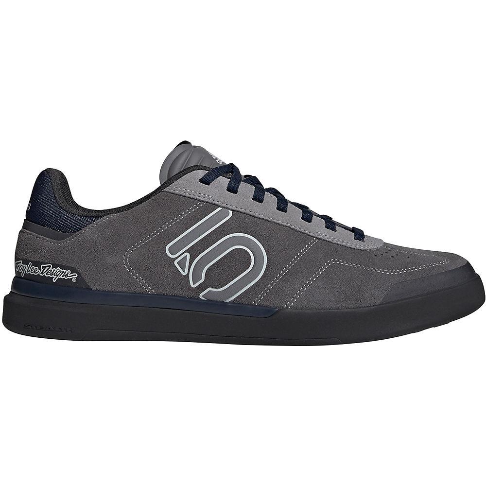 Five Ten Sleuth DLX TLD MTB Shoes (2019) - Grey Three F17-Clear Grey-Collegiate Navy - UK 8, Grey Three F17-Clear Grey-Collegiate Navy
