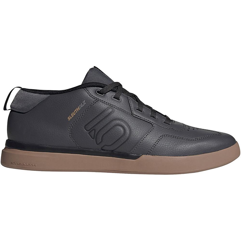 Five Ten Sleuth DLX Mid MTB Shoes (2019) - Black-Gum - UK 12.5, Black-Gum