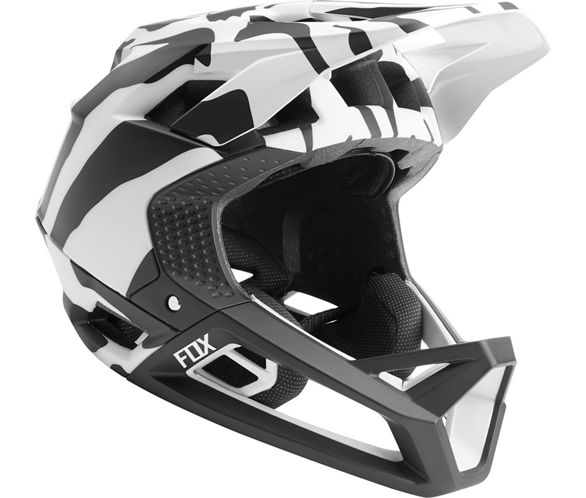 ed3d81fdc Fox Racing Proframe Helmet (Zebra LE). The Zebra Limited Edition collection  brings ...