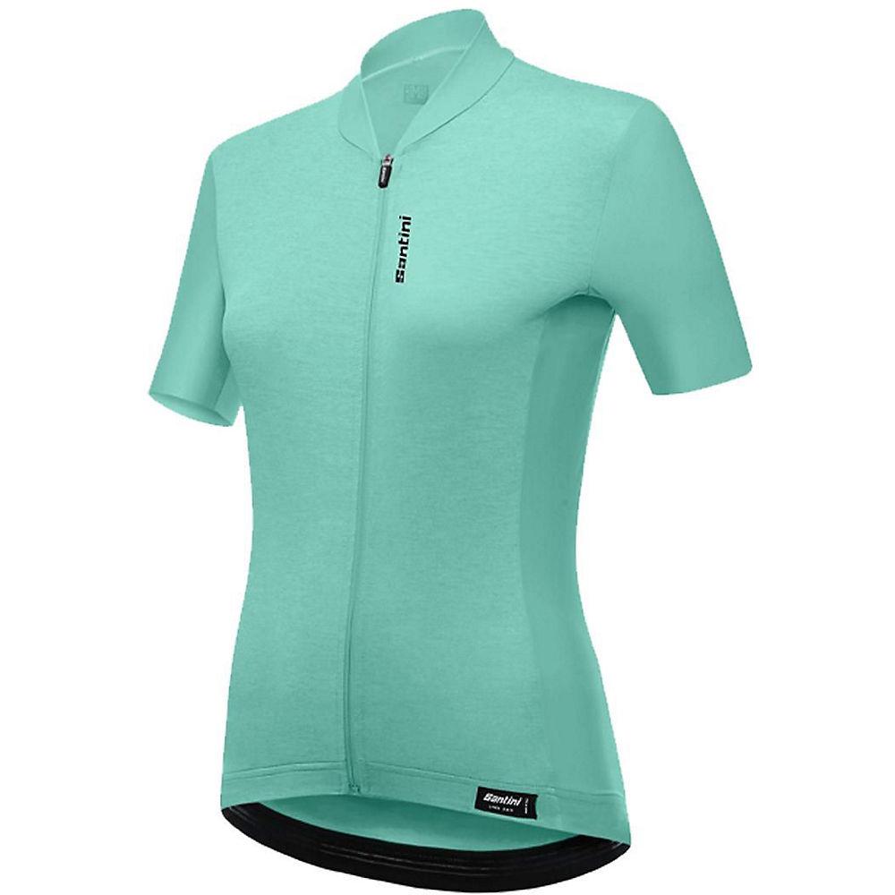 Morvelo Pimento Merino Long Sleeve Jersey  - Green-pink  Green-pink