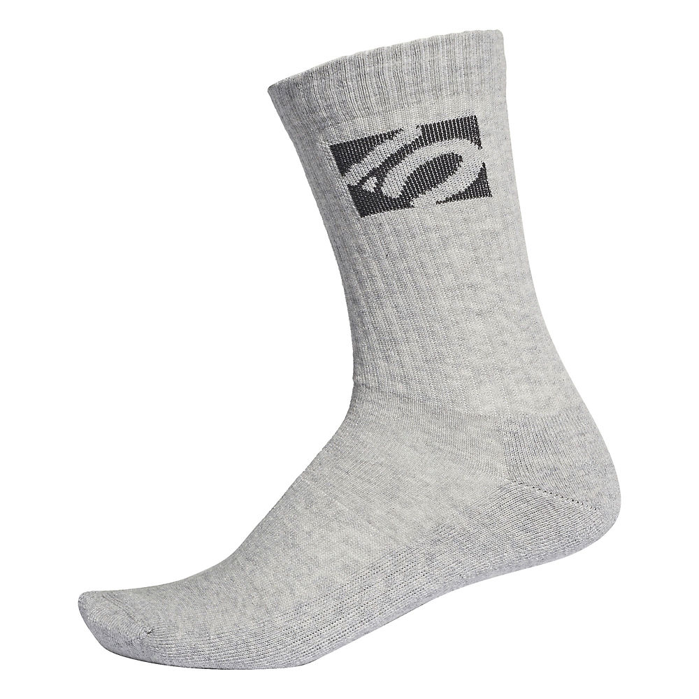 Five Ten Crew Socks  - Medium Grey Heather  Medium Grey Heather