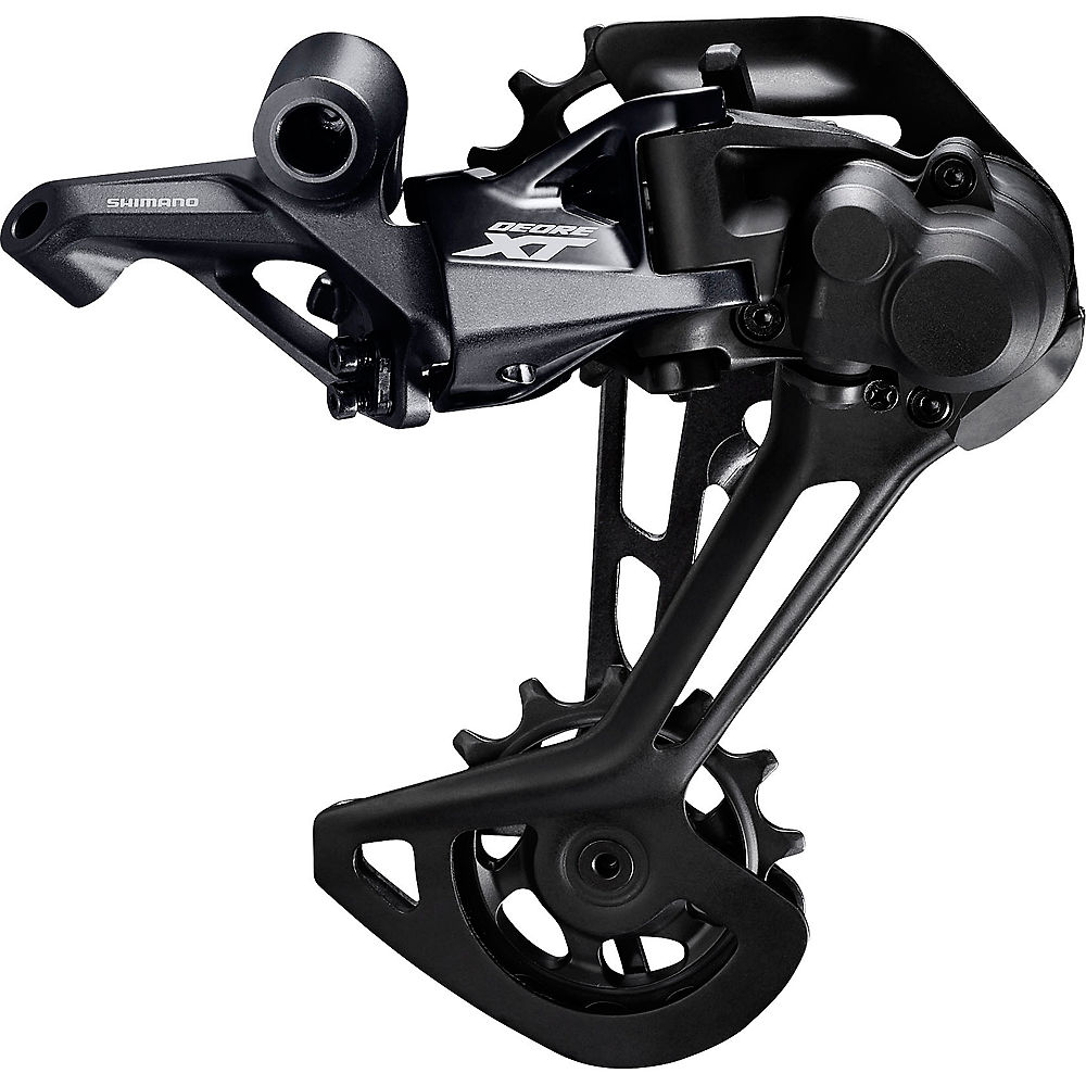 Shimano XT M8100 1x12sp Rear Derailleur – Black – Long Cage, Black
