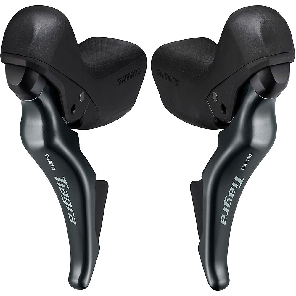 Shimano Tiagra 4725 Short Reach Shifters Set - Black - Pair, Black