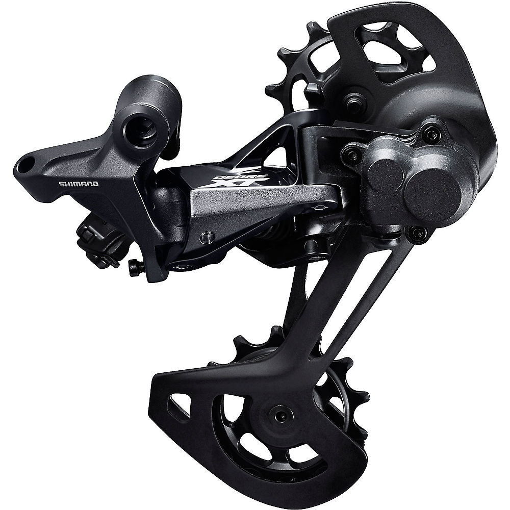 Shimano XT M8120 2x12sp Rear Derailleur – Black – Long Cage, Black