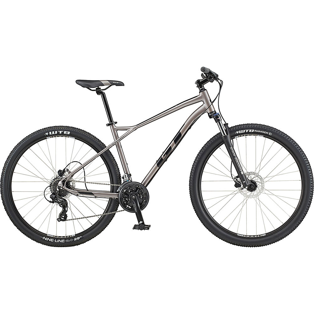 GT Aggressor Expert Bike 2020 - argentato - nero - XS