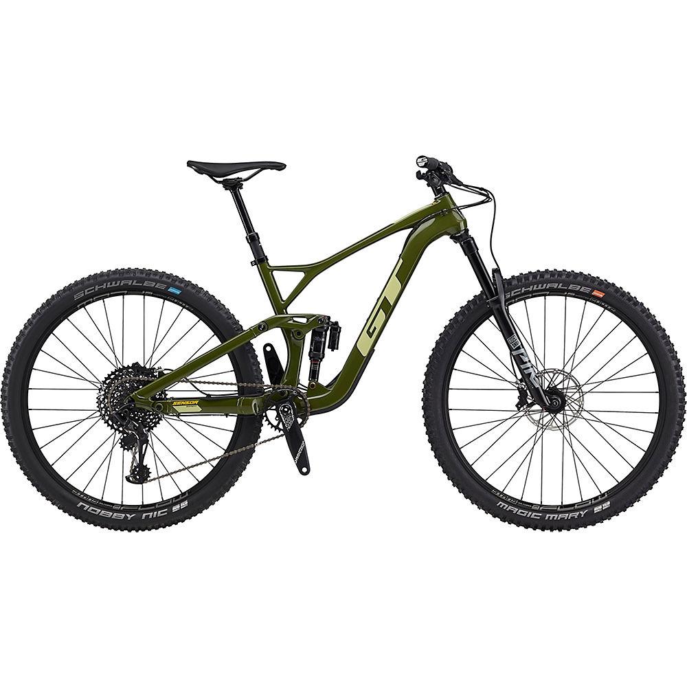 GT Sensor Carbon Expert Bike 2020 - Military Green - Gumwall - XL