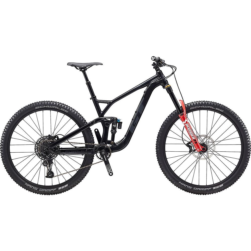 GT Force AL Elite 29 Bike 2020 - Satin Black - Gunmetal