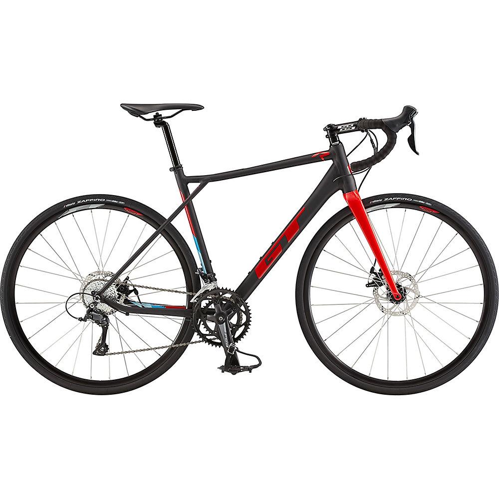 GT GTR Comp Bike 2020 - Satin Black - Gloss Red - XL