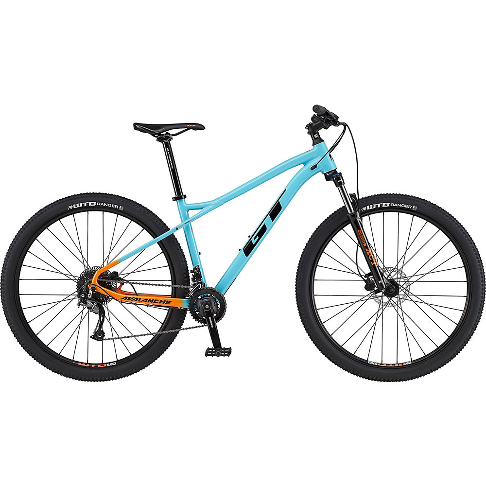 GT Avalanche Sport Bike 2020 Aqua Blue/Orange Fade Chainreactioncycles