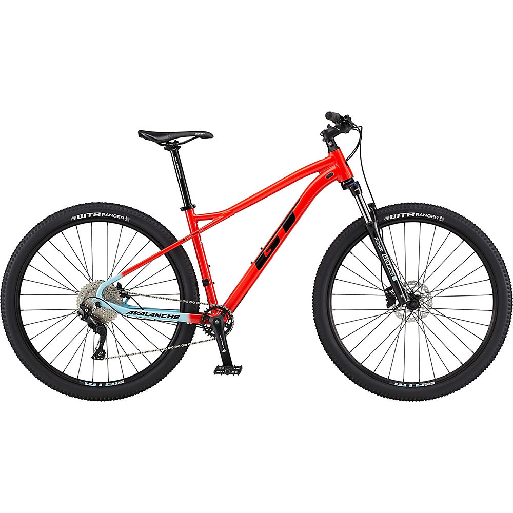 Image of GT Avalanche Comp Bike 2020 - Red - Skyblue Fade, Red - Skyblue Fade