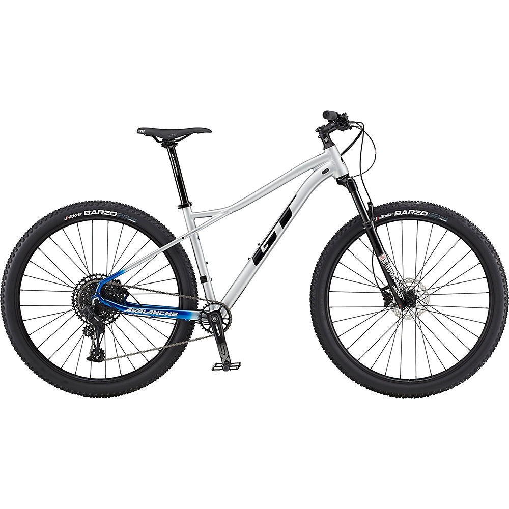 GT Avalanche Expert Bike 2020 Argent/Blue Fade Chainreactioncycles
