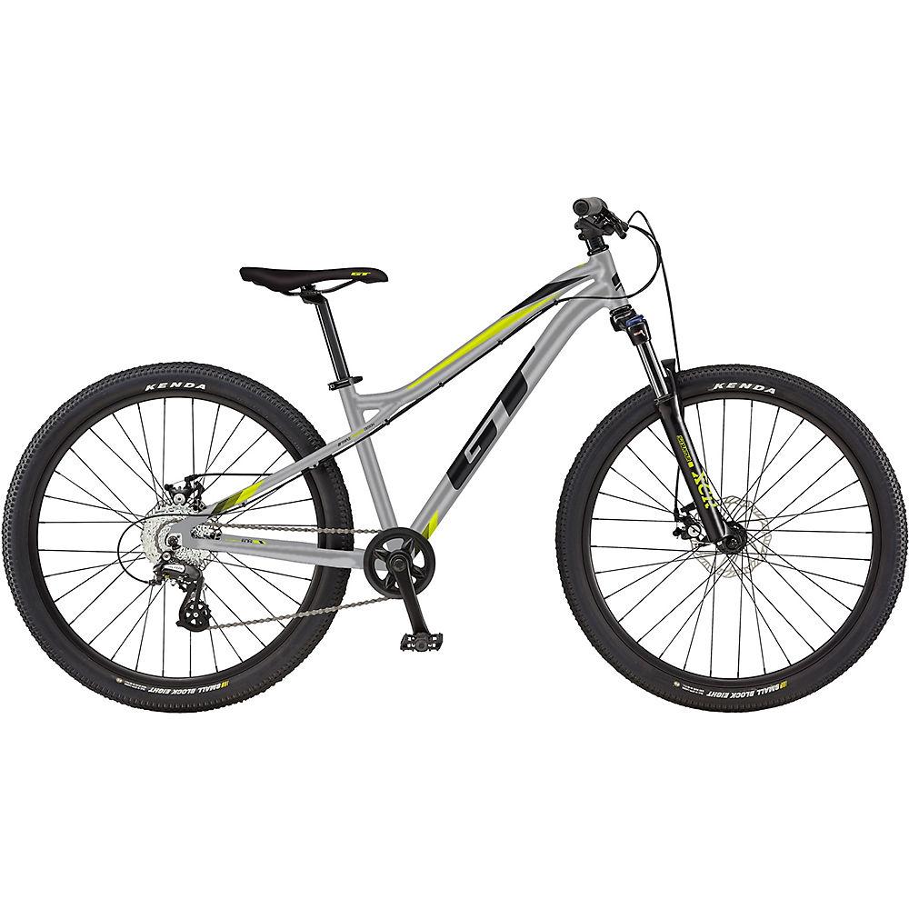 GT Stomper Ace 26 Kids Bike 2020 - Gloss Silver - Black - 26