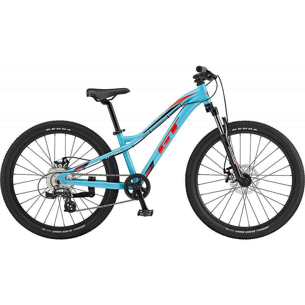 GT Stomper Ace 24 Kids Bike 2020 - Aqua Blue - Red - 24