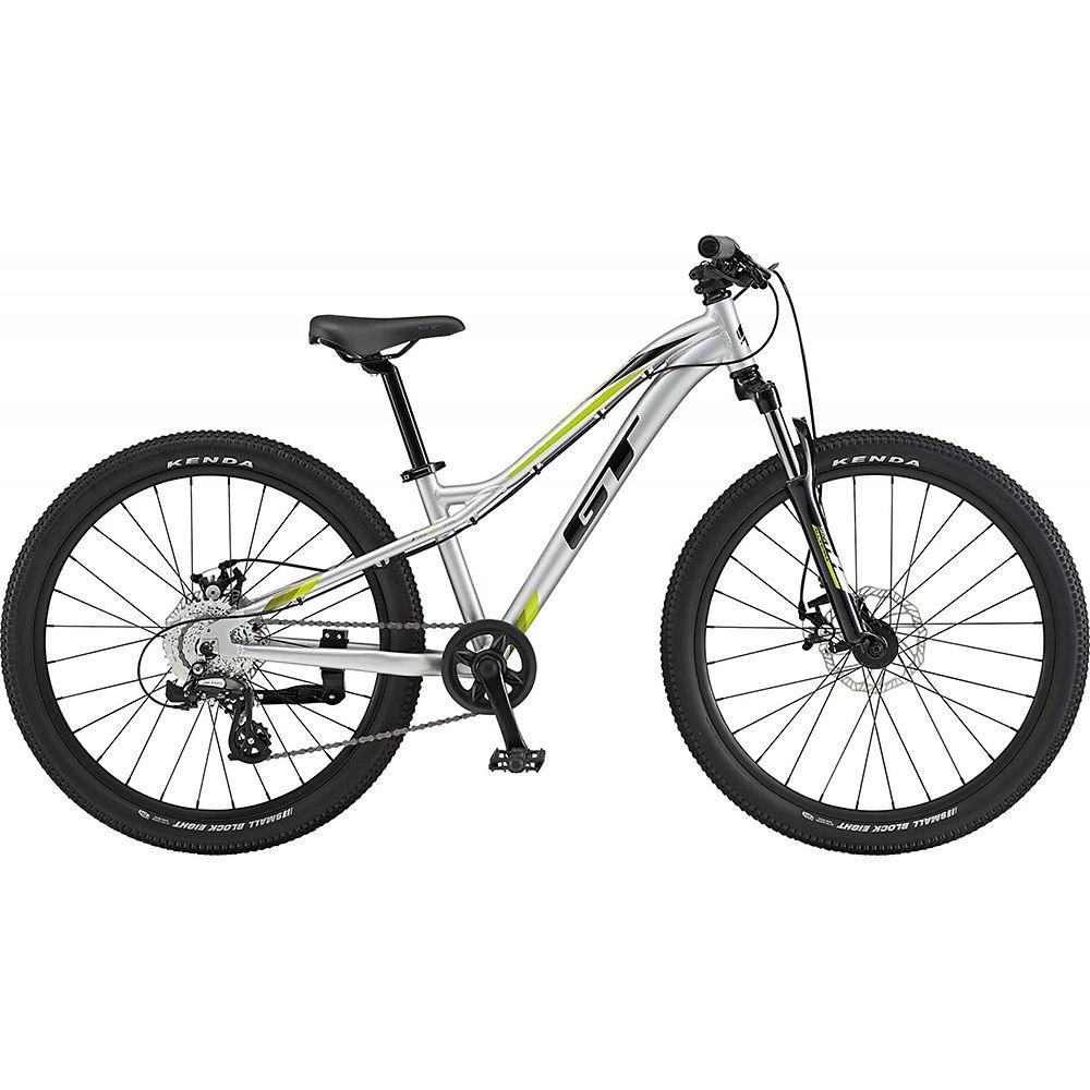 GT Stomper Ace 24 Kids Bike 2020 - Gloss Silver - Black - 24