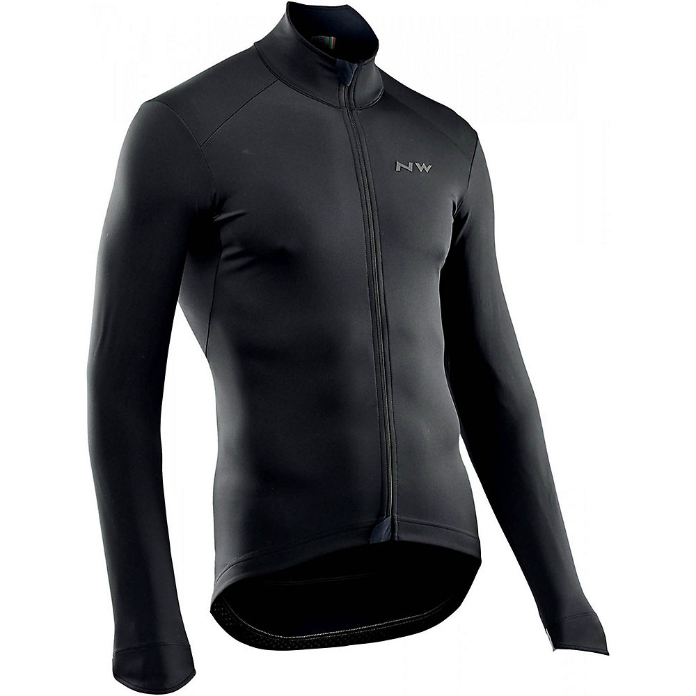 Northwave Ghost H2O Water Repellent Jacket  – Black – M, Black