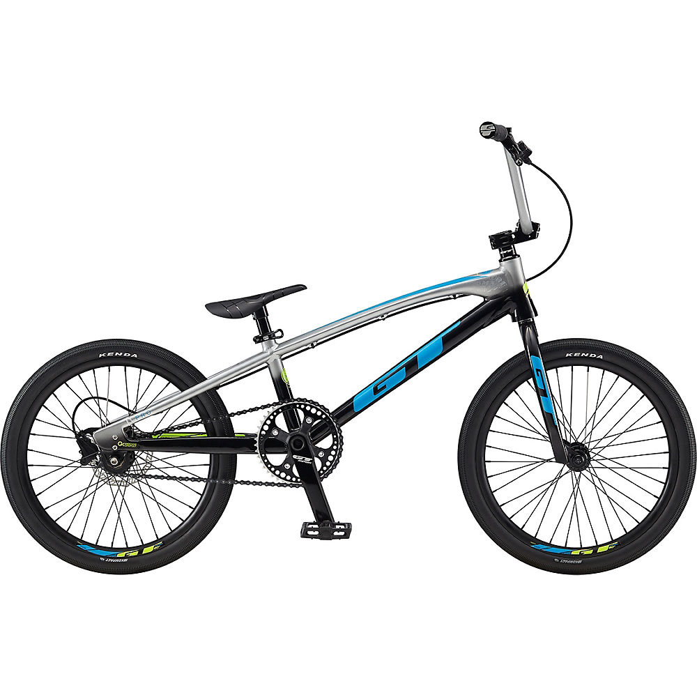 Image of BMX GT Speed Series Pro 2020 - Gloss Silver - Black Fade, Gloss Silver - Black Fade