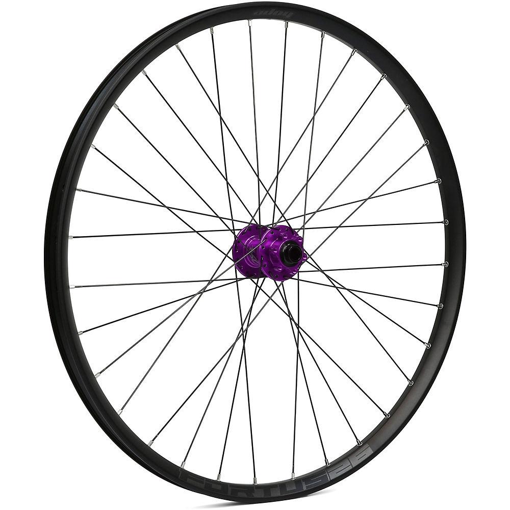 Hope Fortus 26 Mountain Bike Front Wheel - Purple - 15 X 110mm  Purple