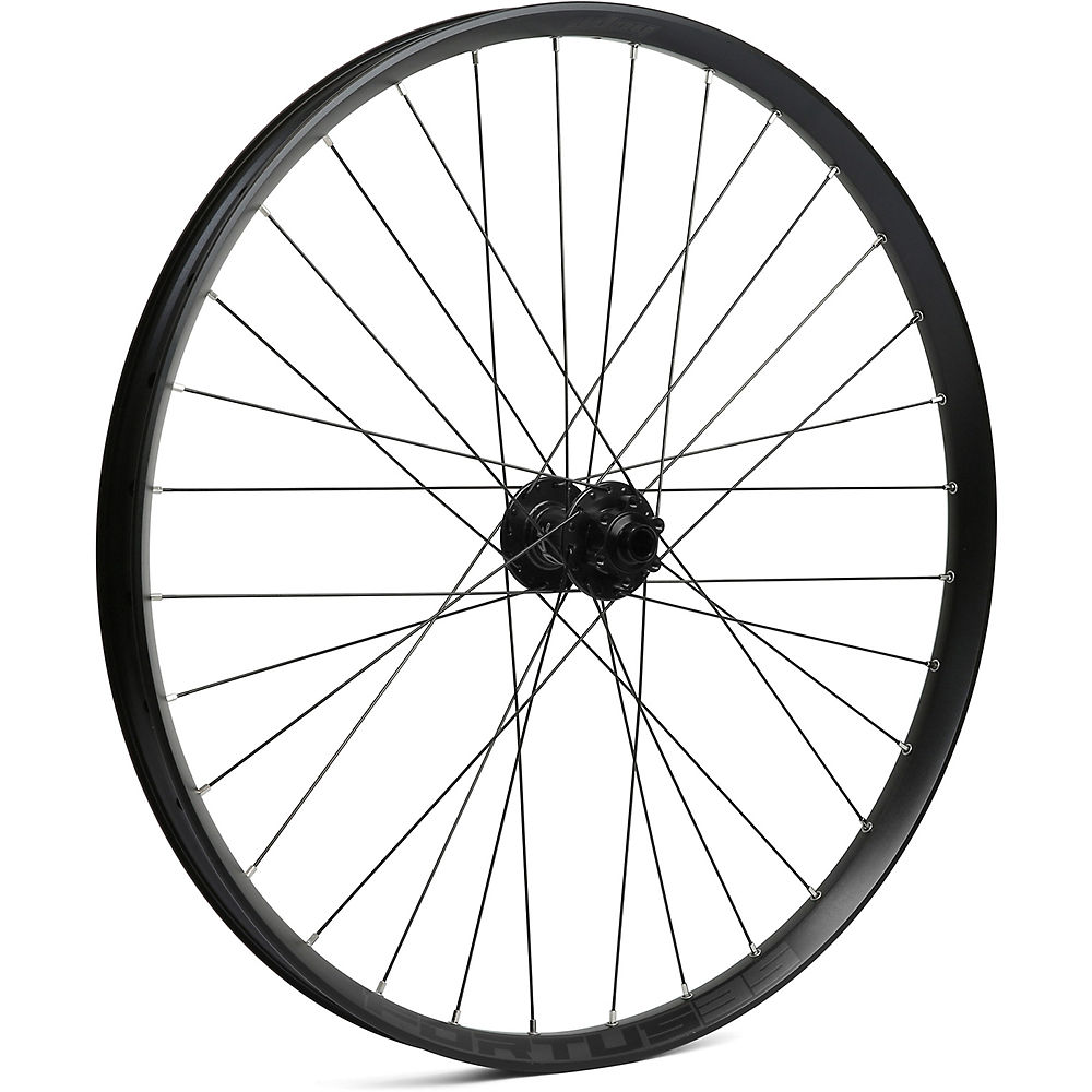 Hope Fortus 35 MTB Front Wheel – Black – 15 x 100mm, Black