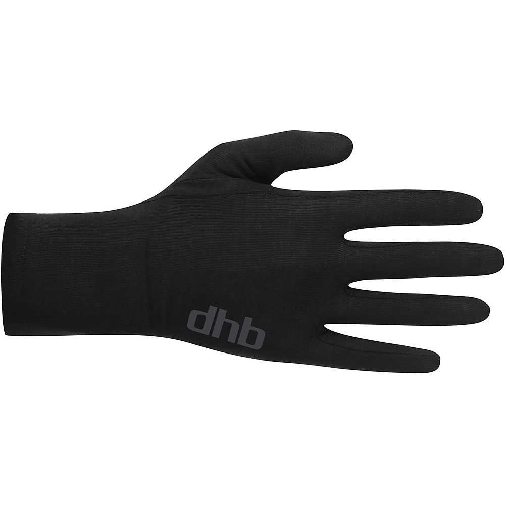 Dhb Merino Liner Glove - Black - Xl  Black