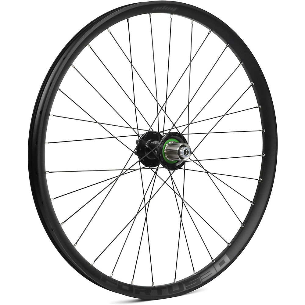 Hope Fortus 30 Mountain Bike Rear Wheel - Black - 12 X 142mm  Black