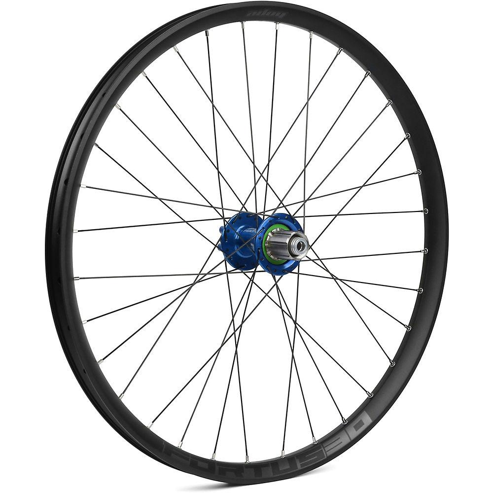 Hope Fortus 30 Mountain Bike Rear Wheel - Blue - 12 X 142mm  Blue