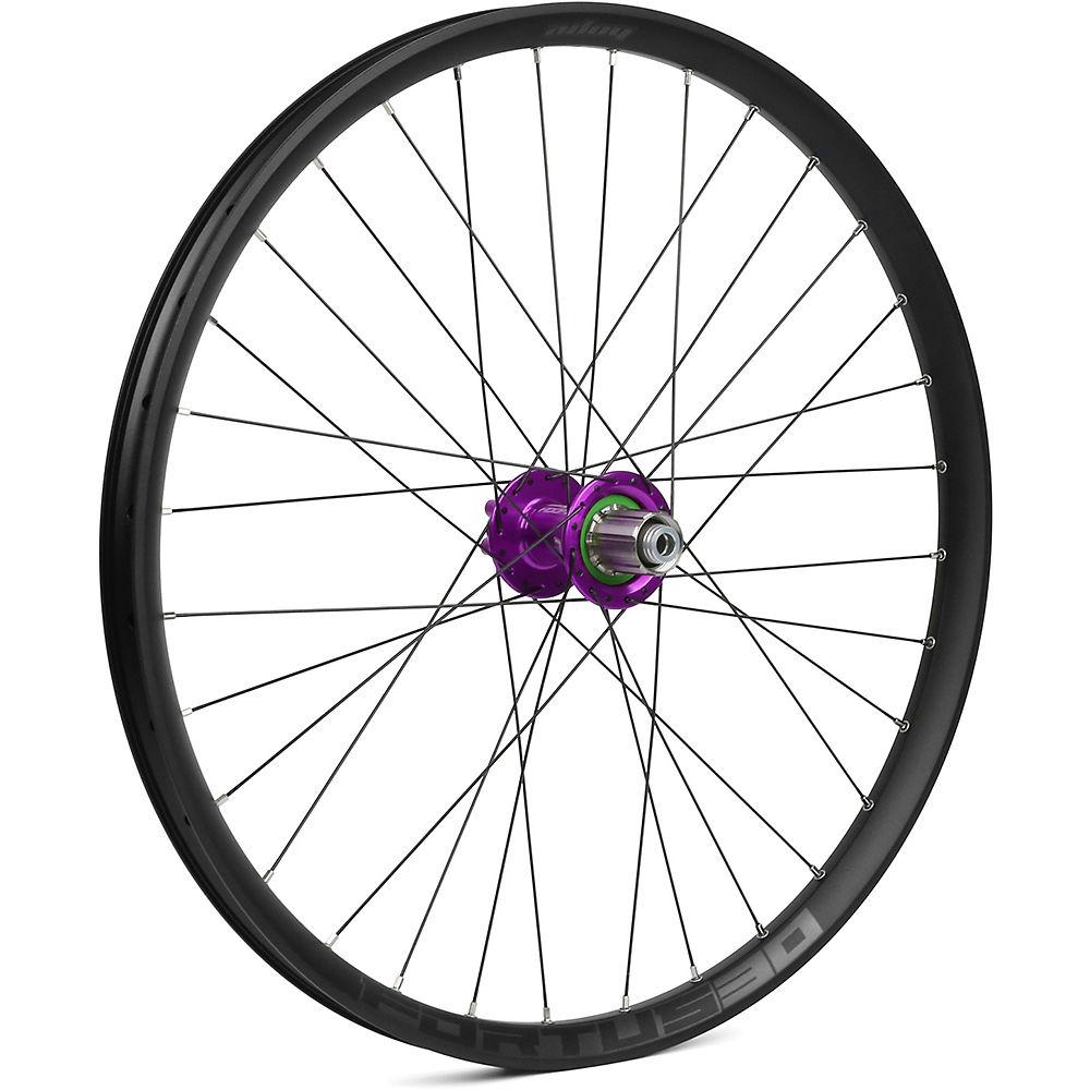 Hope Fortus 30 Mountain Bike Rear Wheel - Purple - 12 X 142mm  Purple