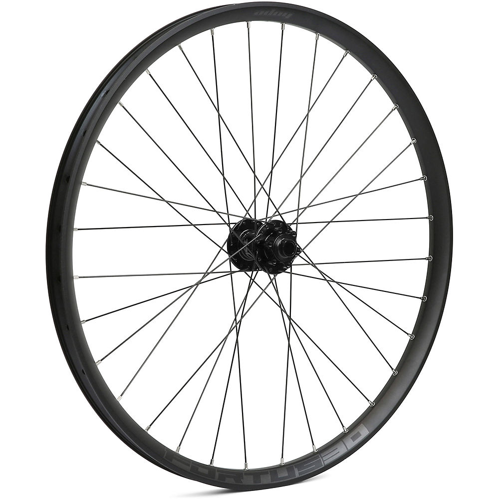 Hope Fortus 30 Mountain Bike Front Wheel - Black - 15  X 100mm  Black