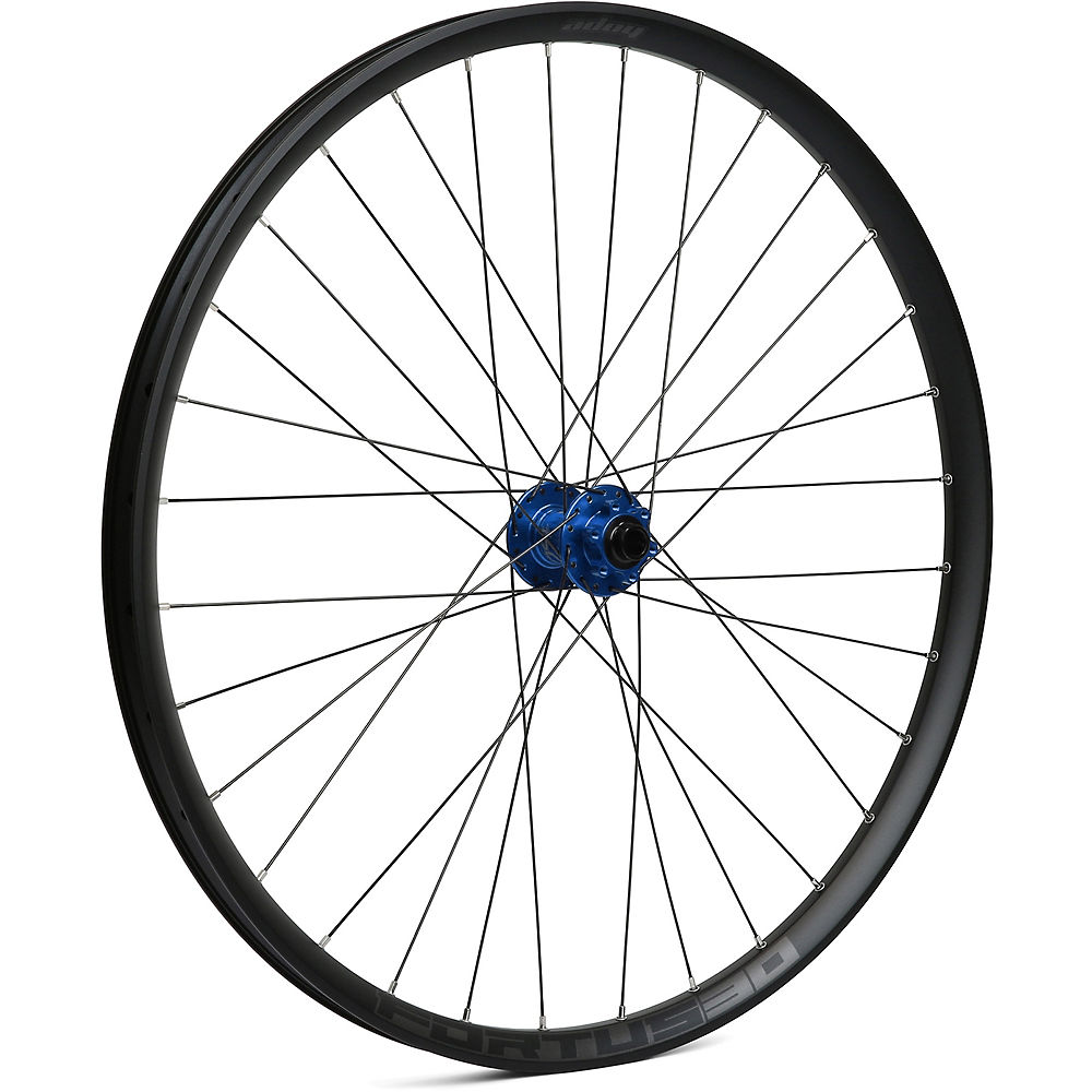 Hope Fortus 30 Mountain Bike Front Wheel - Blue - 15 X 110mm  Blue