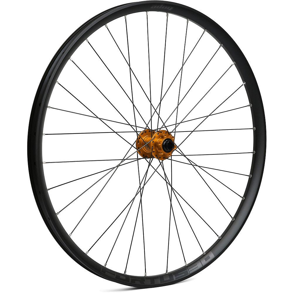 Hope Fortus 30 Mountain Bike Front Wheel - Orange - 15 X 110mm  Orange