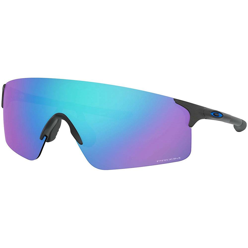 Oakley Evzero Blades Prizm Sapphire Sunglasses  - Steel  Steel