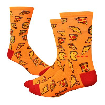 DeFeet - Aireator 6 Pizza Party | cycling socks