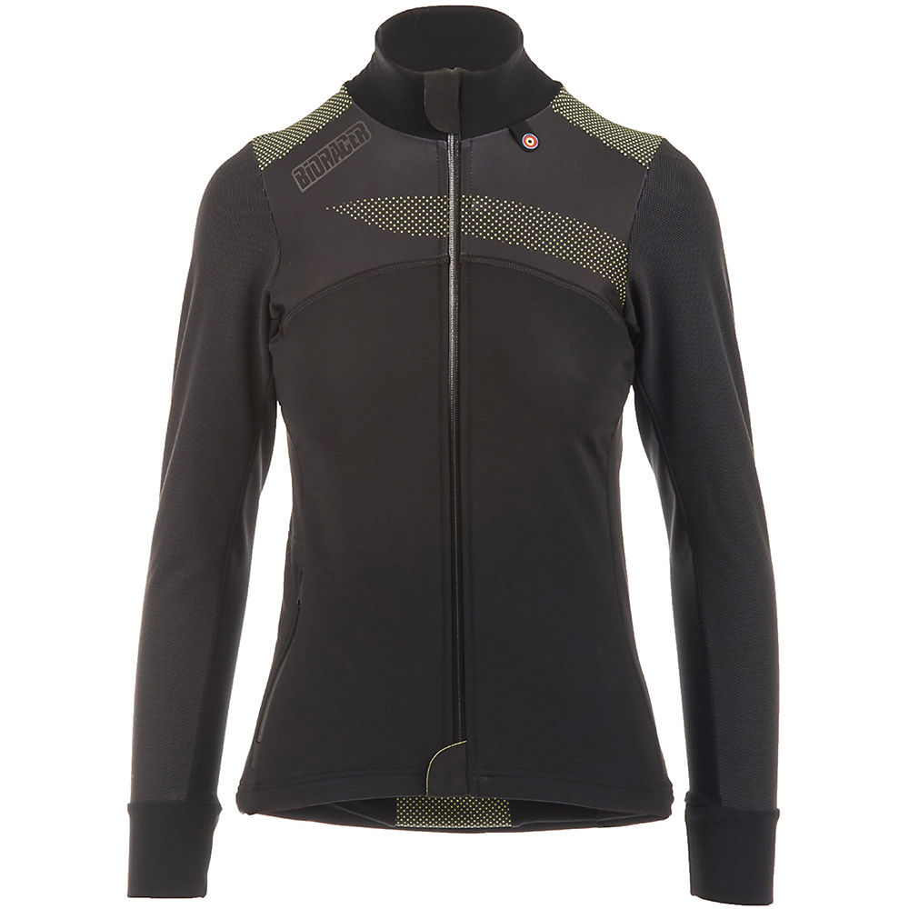 Image of Bioracer Vesper Tempest Protect Winter Jacket - Noir/Jaune - L, Noir/Jaune