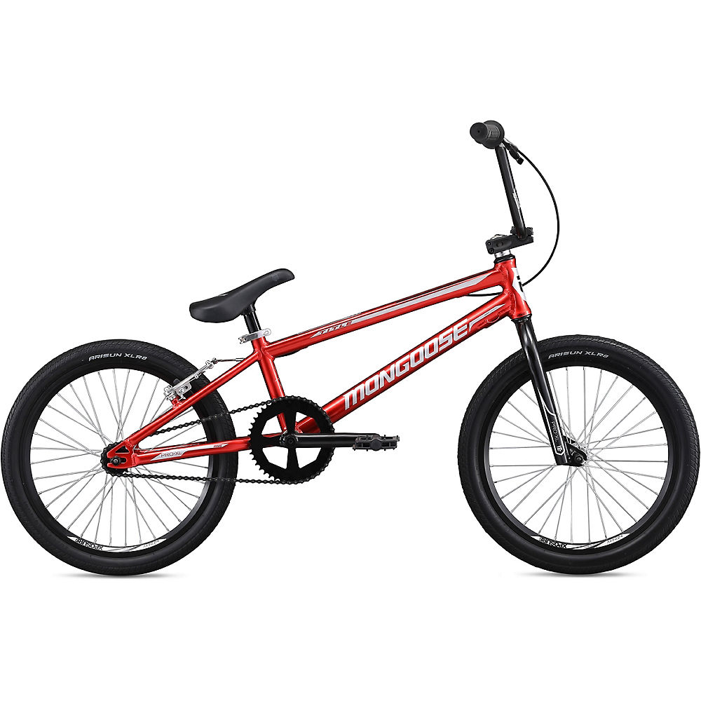 "Image of Mongoose Title Pro XL BMX Bike 2020 - Red - 20"", Red"
