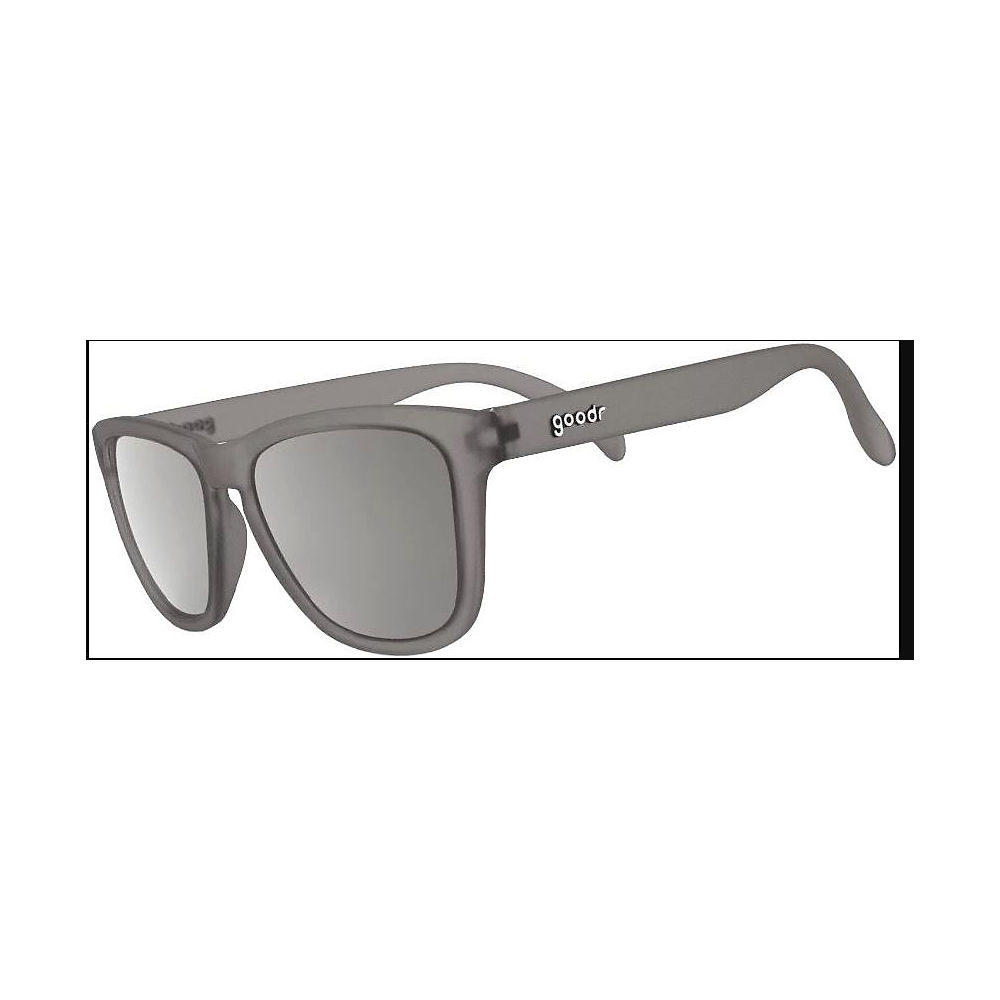 Image of Goodr The OGs Going to Valhalla Sunglasses 2019 - Grey w- Chrome Lens, Grey w- Chrome Lens