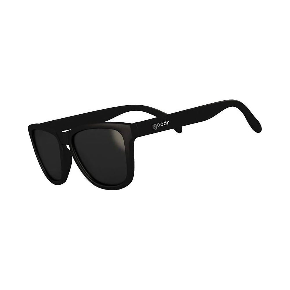 Image of Goodr The OGs A Ginger's Soul Sunglasses 2019 - Black w- Black Lens, Black w- Black Lens