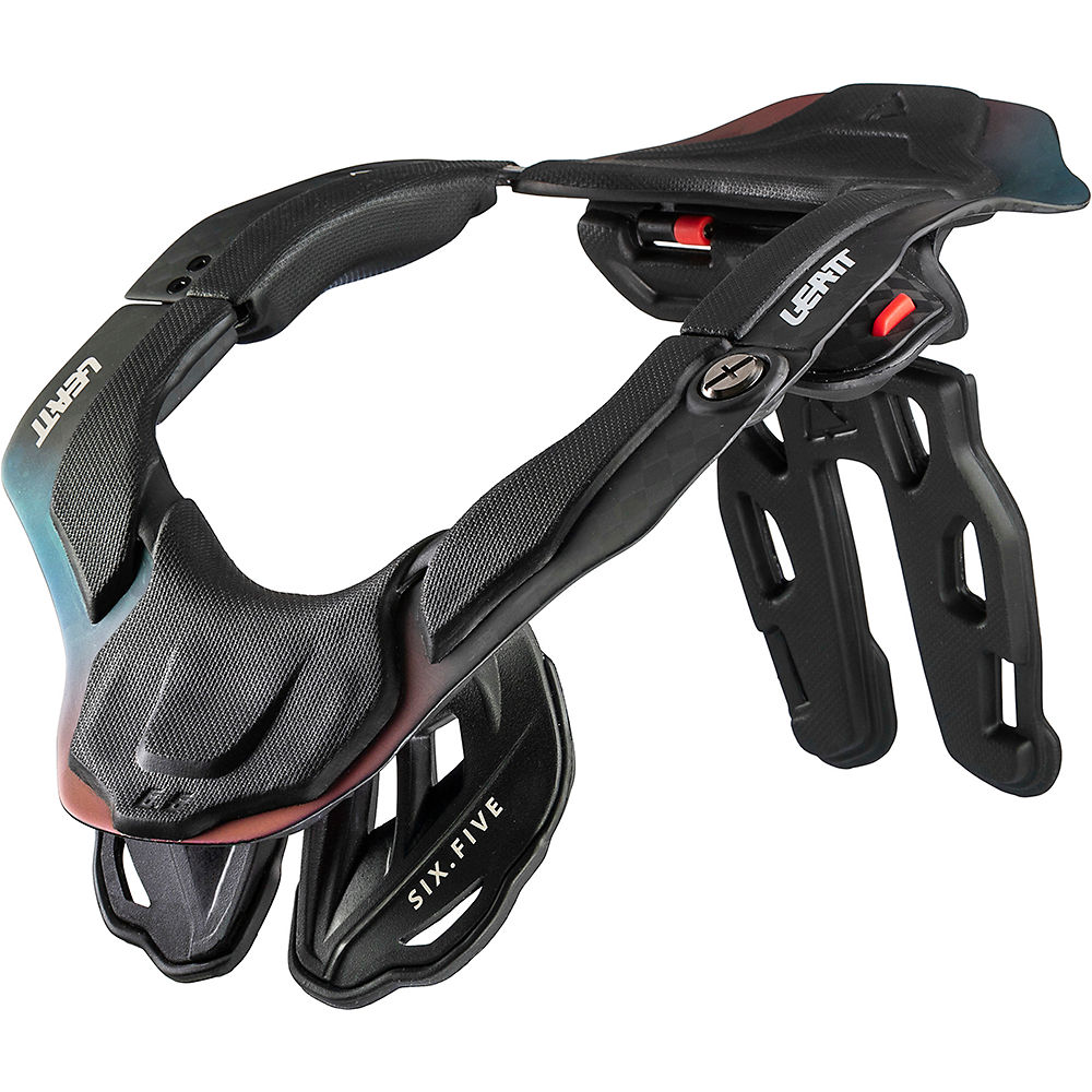 Leatt DBX 6.5 Carbon Neck Brace - Carbon-Hologram - S, Carbon-Hologram