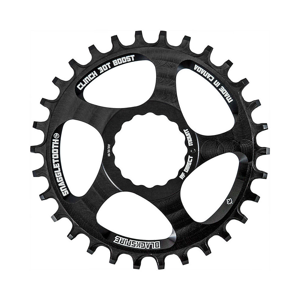 Image of Blackspire Snaggletooth NW Cinch Chainring BOOST - Noir - Direct Mount, Noir