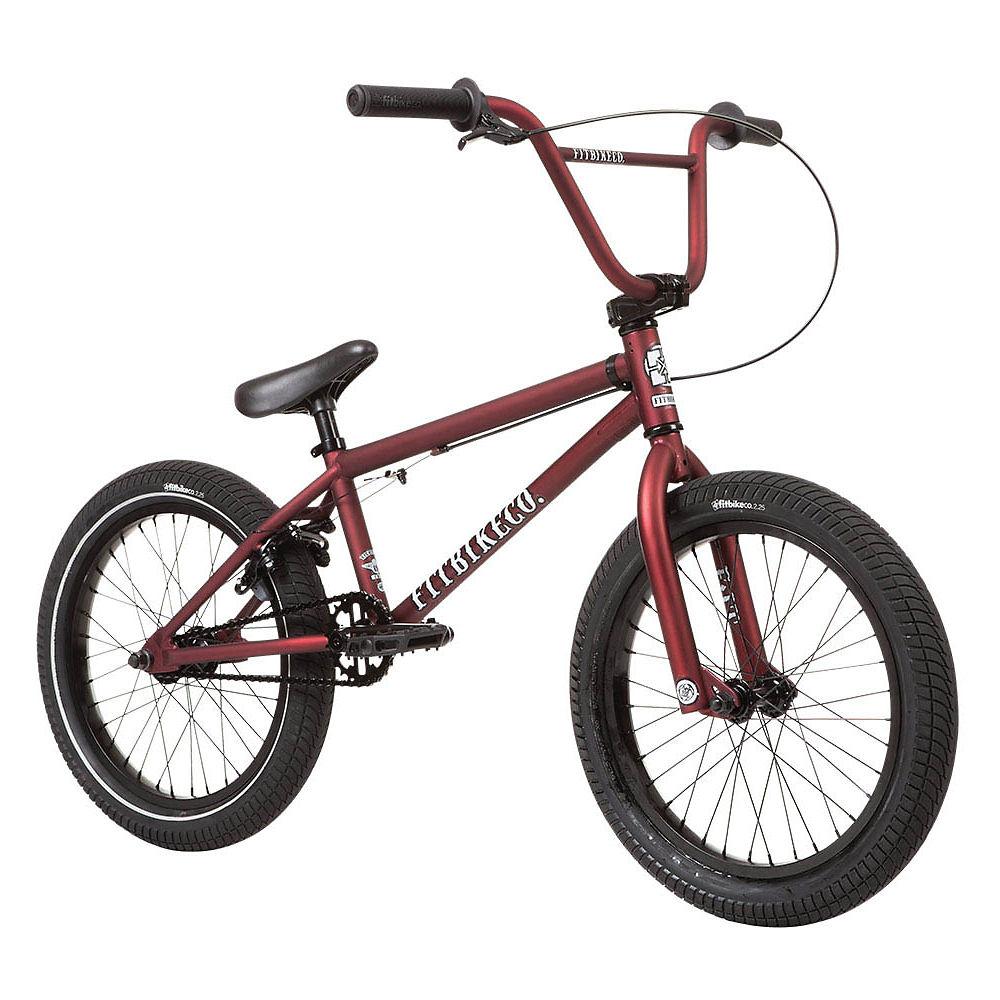 Fit Eighteen BMX Bike 2020 - Matte Dark Red - 18