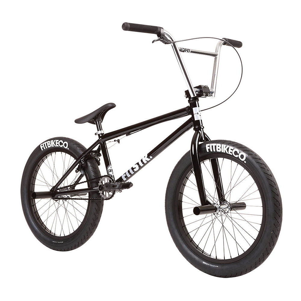 Fit STR BMX Bike 2020 - nero lucido - 20.5