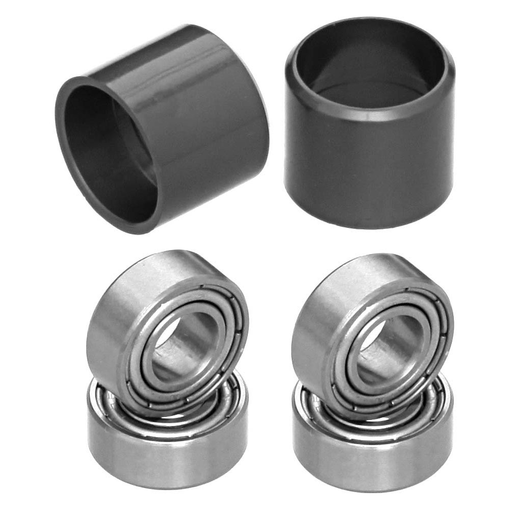 Image of TAG Metals T1 Pedal Axle Bearing Kit - Argent, Argent