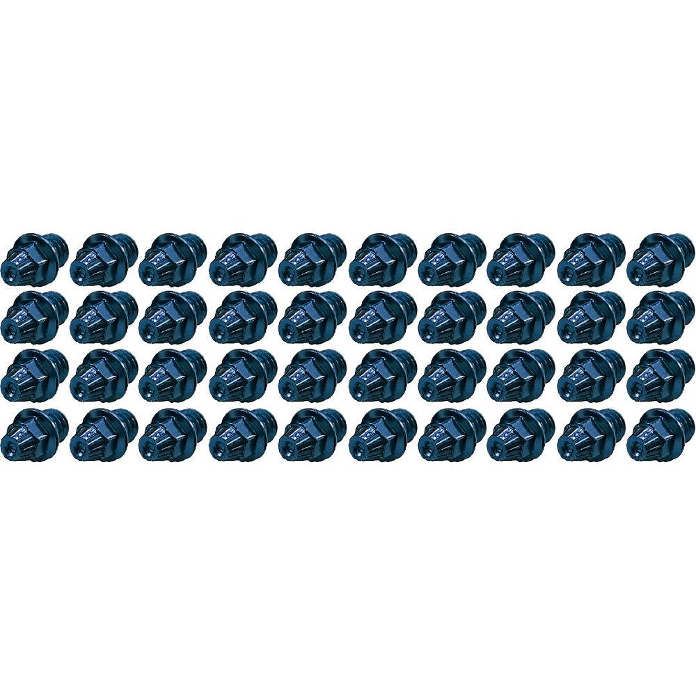 Image of TAG Metals T1 Pedal Cone Pin Set - Bleu - 4mm 40pcs, Bleu