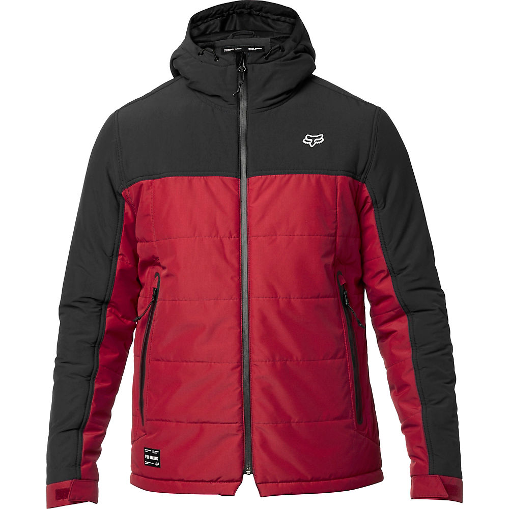 Fox Racing Harrison Jacket  – BLACK-RED – XL, BLACK-RED