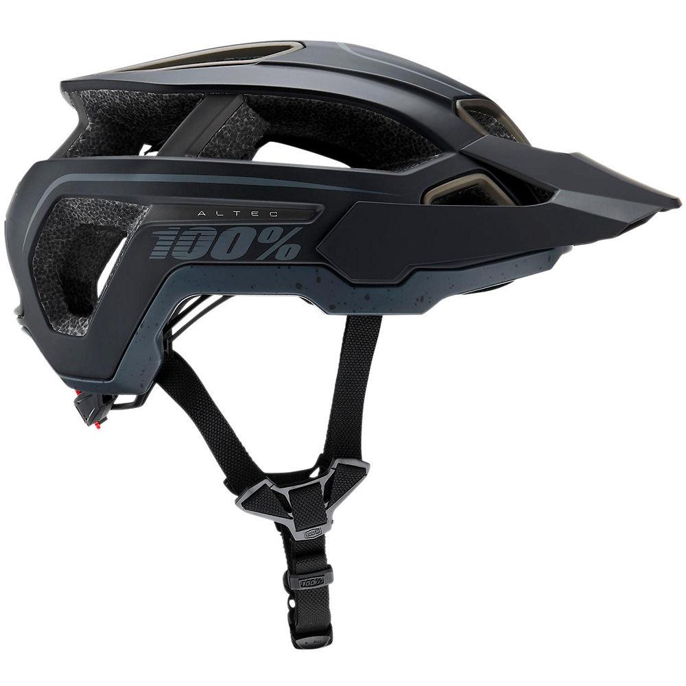 100% Altec MTB Helmet 2019 - Black 2 - XS, Black 2